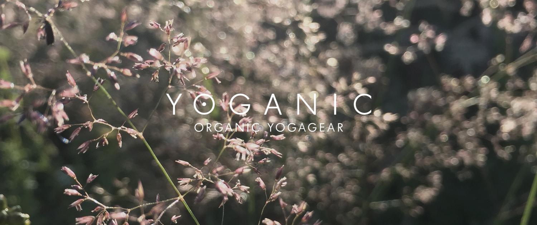 billede af Yoganic logo med blomster i baggrund